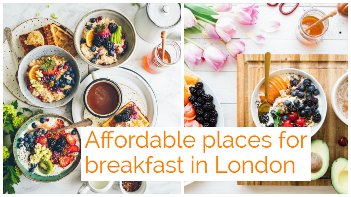 Affordable breakfast places in london