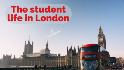 The student life in London