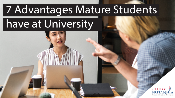 7 Advantages mature students have at University